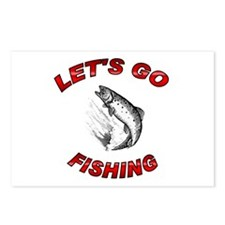Lets Go fishing Postcards (Package of 8)