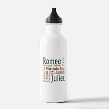 Romeo & Juliet Characters Water Bottle
