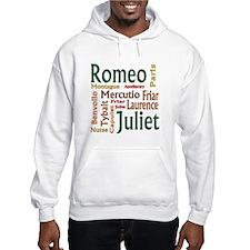 Romeo & Juliet Characters Hoodie