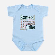 Romeo & Juliet Characters Infant Bodysuit
