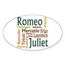Romeo & Juliet Characters Decal