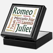 Romeo & Juliet Characters Keepsake Box