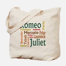 Romeo & Juliet Characters Tote Bag