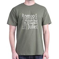 Romeo & Juliet Characters T-Shirt