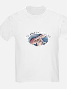 First Ballet Recital Kids T-Shirt