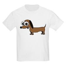 Cute Dachshund Cartoon T-Shirt