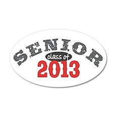 Senior Class of 2013 22x14 Oval Wall Peel