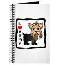 Love My Yorkshire Terrier Journal