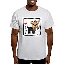 Love My Yorkshire Terrier T-Shirt