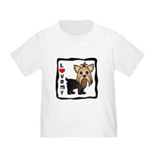 Love My Yorkshire Terrier T