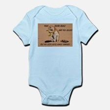 Big Nuts Squirrel Infant Bodysuit