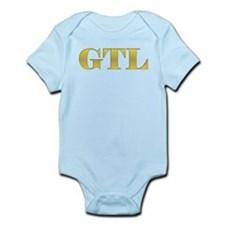 Funny Gym tan laundry Infant Bodysuit
