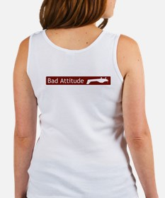 """Bad Attitude"" Women's Tank Top"