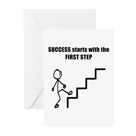 SUCCESS Greeting Cards (Pk of 10)