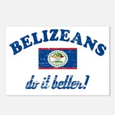 Belizeans Do It Better Postcards (Package of 8)
