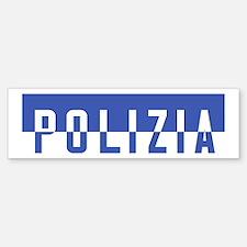 Polizia Sticker (Bumper)