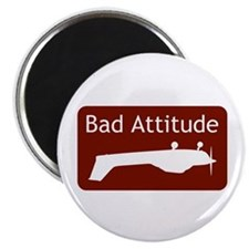 """""""Bad Attitude"""" Magnet"""
