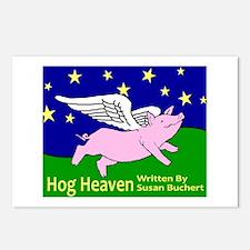 Hog Heaven Postcards (Package of 8)