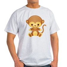 Cute Kawaii Cheeky monkey T-Shirt