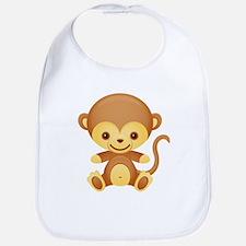 Cute Kawaii Cheeky monkey Bib