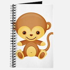 Cute Kawaii Cheeky monkey Journal