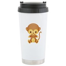 Cute Kawaii Cheeky monkey Travel Mug