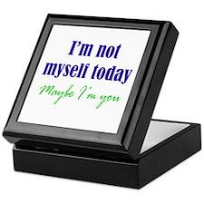 Not Myself Today Keepsake Box