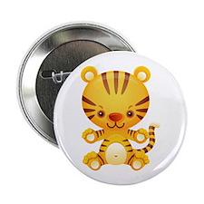 "Cute Kawaii Tiger 2.25"" Button (100 pack)"