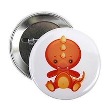 "Cute Kawaii Dragon 2.25"" Button"