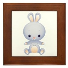 Cute kawaii Rabbit Framed Tile