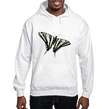 Zebra Swallowtail butterfly Hoodie