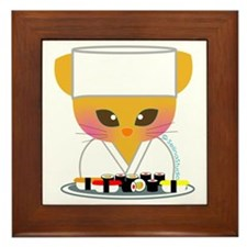 """Sushi Chef"" Framed Tile"