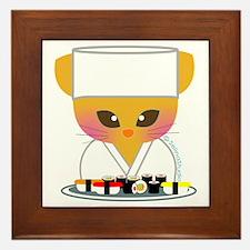 """""""Sushi Chef"""" Framed Tile"""