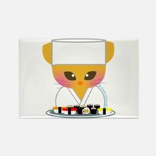 """Sushi Chef"" Rectangle Magnet"