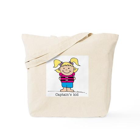 Captain's Kid Girl 1 Tote Bag