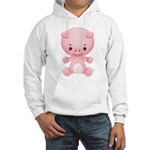 Cute Kawaii Pink pig Hooded Sweatshirt
