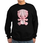 Cute Kawaii Pink pig Sweatshirt (dark)