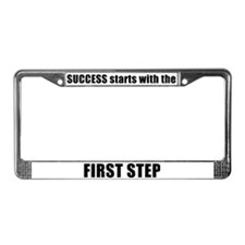 SUCCESS License Plate Frame