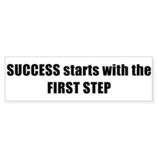 SUCCESS Bumper Sticker
