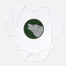 Timberwolf Long Sleeve Infant Bodysuit