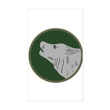 Timberwolf Decal