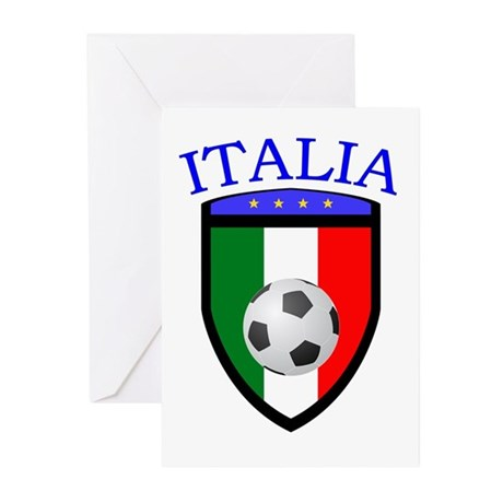 Italian Soccer Greeting Cards (Pk of 10)