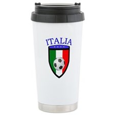 Italian Soccer Travel Mug