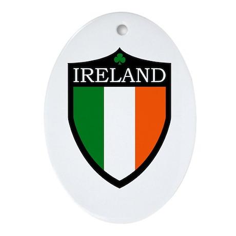 Ireland Ornament (Oval)