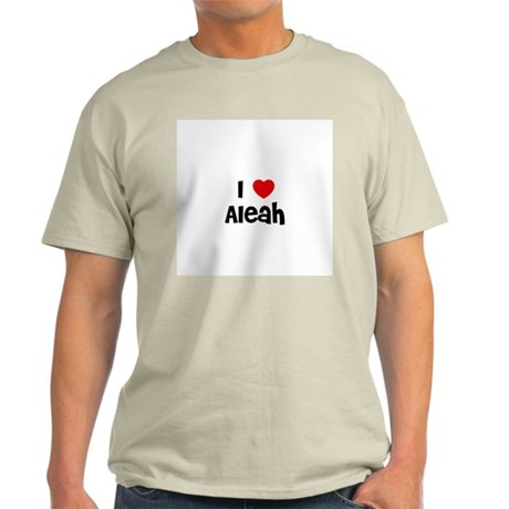I * Aleah Ash Grey T-Shirt