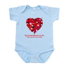 Godmother Loves Me Valentine Infant Bodysuit