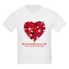 Godmother Loves Me Valentine T-Shirt