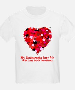Godparents Love Me Valentine T-Shirt