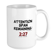 Attention Span Remaining: 2:2 Mug