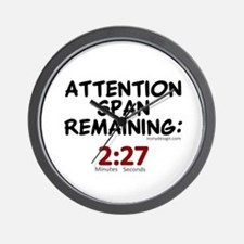 Attention Span Remaining: 2:2 Wall Clock